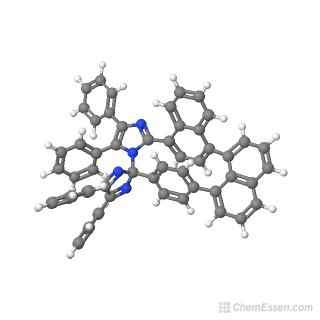 1,8-NDPI-TPI-naphthalene Structure - C56H36N4 - Over 100