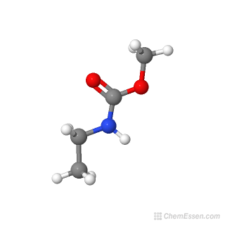 3D chemical structure image of Methyl ethylcarbamate