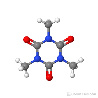 3D chemical structure image of Trimethyl isocyanurate