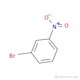 2D chemical structure image of 1-Bromo-3-nitrobenzene