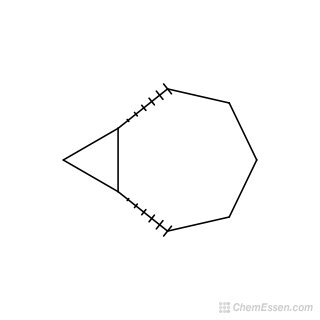 2D chemical structure image of (1R,7S)-bicyclo[5.1.0]octane