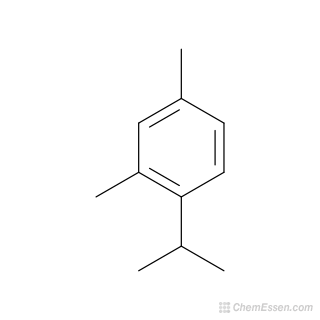 2D chemical structure image of 2,4-dimethyl-1-(propan-2-yl)benzene