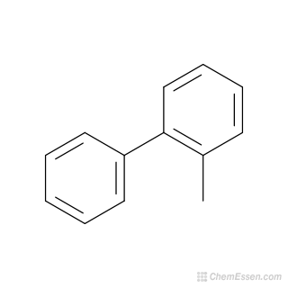 2D chemical structure image of 2-METHYLBIPHENYL