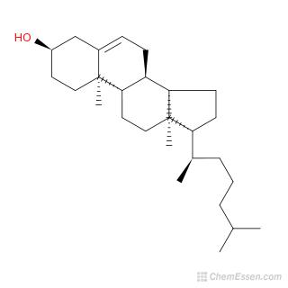 3alpha Cholesterol Formula C27h46o Over 100 Million Chemical