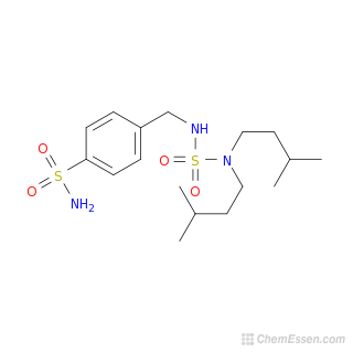 Chemical Formula of 4-({[bis(3-methylbutyl)sulfamoyl]amino ...