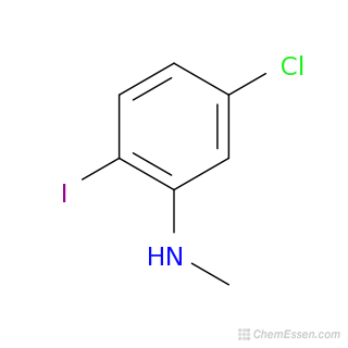 N Methylaniline Structure Chemical Formula of 5-...