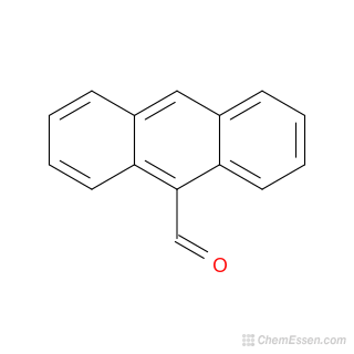 2D Chemical Structure Image Of 9 Anthraldehyde