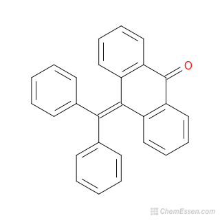 2D Chemical Structure Image Of 9 Benzhydrylidene 10 Anthrone