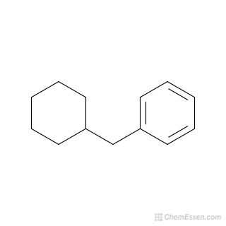 2D chemical structure image of (Cyclohexylmethyl)benzene