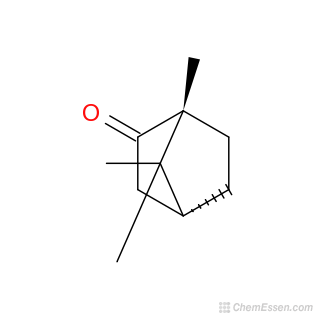 D-CAMPHOR Structure - C10H16O - Over 100 million chemical