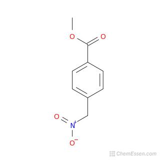 Methyl 4-(nitromethyl)benzoate Structure - C9H9NO4 - Over ...  Methyl Benzoate Structural Formula