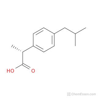 ibuprofen structure