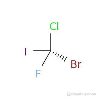 R)-bromo(chloro)fluoro(iodo)methane Formula - CBrClFI - Over 100