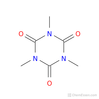 2D chemical structure image of Trimethyl isocyanurate