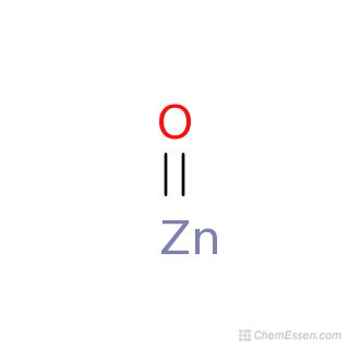 2D chemical structure image of ZINC OXIDE