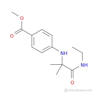 Chemical Formula of Methyl 4-{[1-(ethylcarbamoyl)-1 ...  Methyl Benzoate Structural Formula