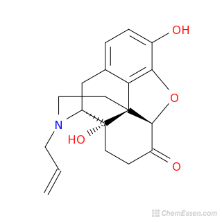 Image result for chemical structure of naloxone 3d