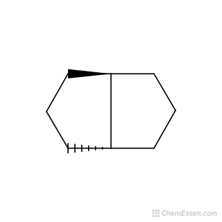 2D chemical structure image of trans-Octahydropentalene