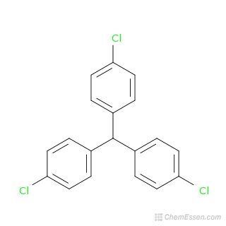 Tris(4-chlorophenyl)methane Formula - C19H13Cl3 - Over 100 million